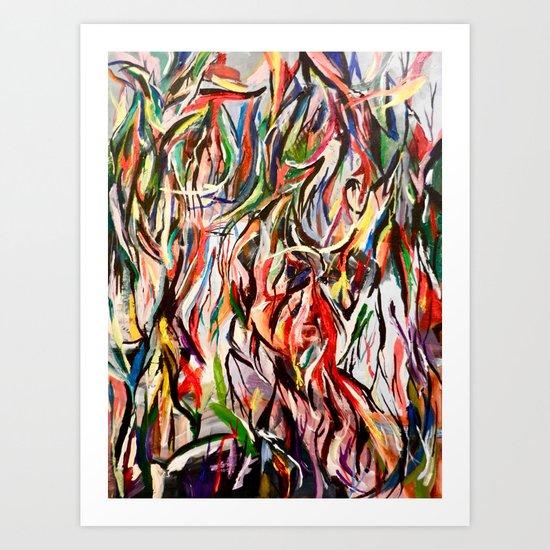 Jumble Art Print
