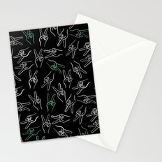 Peace Out Stationery Cards