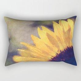 Another sunflower - Flower Flowers Summer Rectangular Pillow