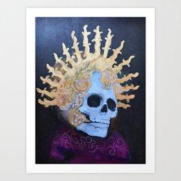 """""""Gold Queen"""" Art Print"""