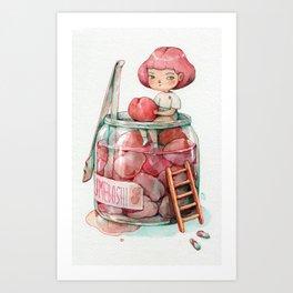 Umeboshi Thief Art Print