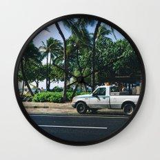car 01 Wall Clock