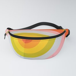 Rainbow Abstract Fanny Pack