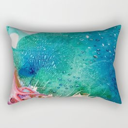 Environmental Series #5 Rare Octopus Marvels at the Ocean Rectangular Pillow