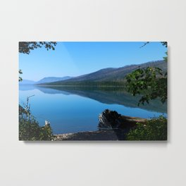 Lake McDonald Impression Metal Print