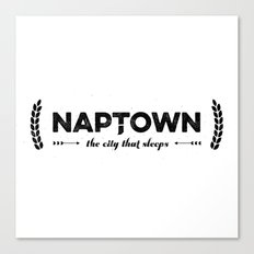 Naptown | the city that sleeps | Indianapolis Canvas Print