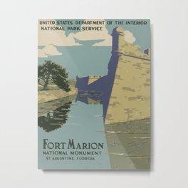 Fort Marion Metal Print