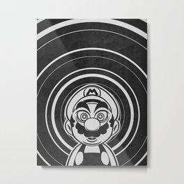 Super Trippin Bros. Mario is All Stars. Metal Print