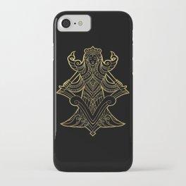 Virgo Gold iPhone Case