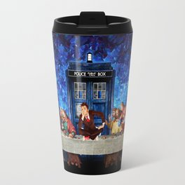 Tardis doctor who lost in the last supper iPhone 4 4s 5 5c 6, pillow case, mugs and tshirt Travel Mug