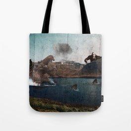 King Godzilla Tote Bag
