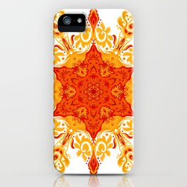 Fireflake #12066543 iPhone Case