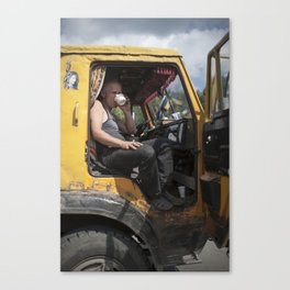 Ural Trucker Canvas Print