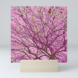 Fragmented Soul (pink) Mini Art Print