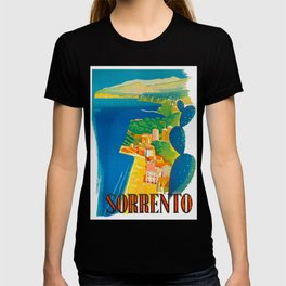 Sorrento Italy ~ Vintage Travel Poster T-shirt