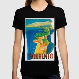 Sorrento Italy ~ Vintage Travel Poster T-shirt
