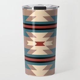Southwestern Pattern 126 Travel Mug