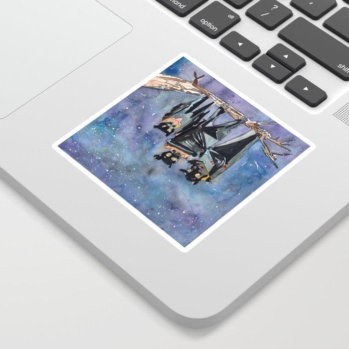 Bat Fam Sticker