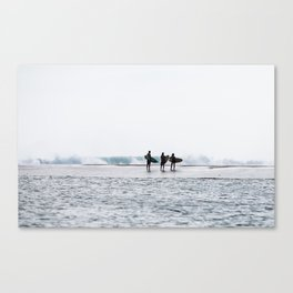 Sandbar Meetup Canvas Print