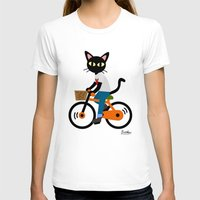 cycling T-shirts featuring Summer cycling by BATKEI