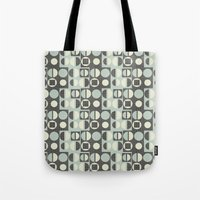 mod Tote Bags featuring mod by kociara