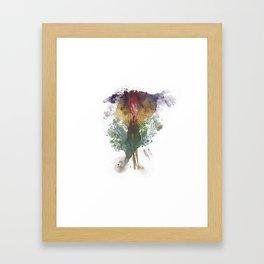 Devon's Vulva Print No.3 Framed Art Print