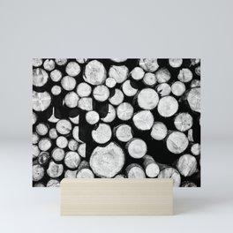 Sawn Timber Mini Art Print