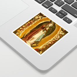 Our Lady Virgin of Guadalupe Virgin Mary Holy Blessed Maria Christmas Gift Religion Sticker
