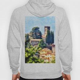 Duomo of Barga (color) Hoody