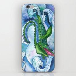 Mervyn the Marvelous Mosasaurus iPhone Skin