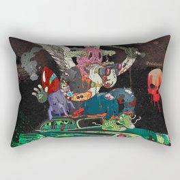 Death Rattle Rectangular Pillow