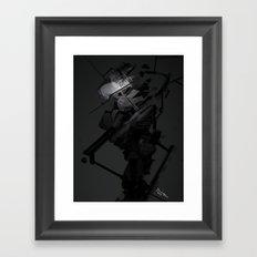 Darkfall Tech Zero Degree Framed Art Print
