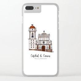 Catedral de Caracas Clear iPhone Case