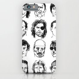 80s Action Stars iPhone Case