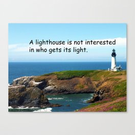 Lighthouse #2 Canvas Print