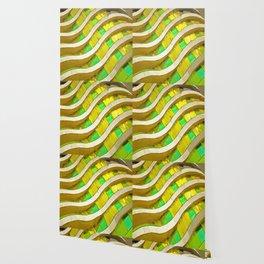 Pop Art Urban Architecture Apartment Block Wallpaper