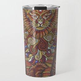 Maine Coon Cat Totem Travel Mug