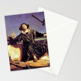 Matejko-Astronomer Copernicus-Conversation with God Stationery Cards