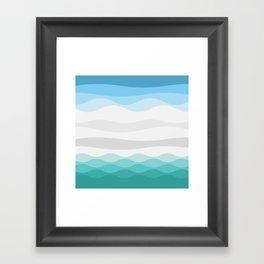 Polarscape Framed Art Print