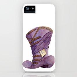 Madder Hat iPhone Case