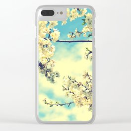 Sweet Blossoms Clear iPhone Case