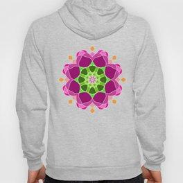 Mandala in crazy colors Hoody