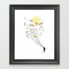 Kite Dream Framed Art Print