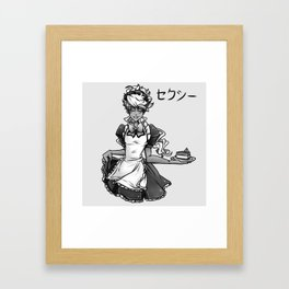 Maid Caim Framed Art Print