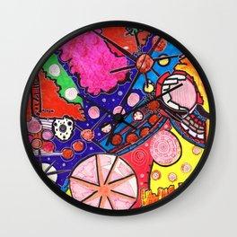 cosmic happenstance Wall Clock