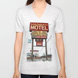 Motel Americana Unisex V-Neck