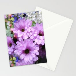Daisies from the Galaxy Stationery Cards