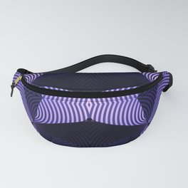 Origami in purple Fanny Pack