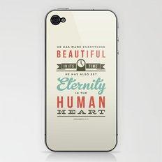 He has made everything beautiful iPhone & iPod Skin