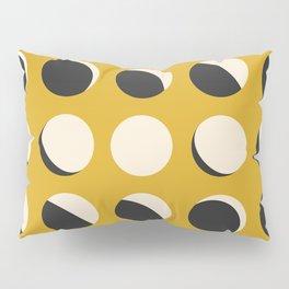 Moon Phased in Honey Pillow Sham
